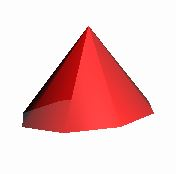 ConeGeometry( 60, 80, 8 );
