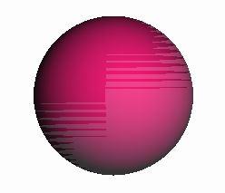 SphereGeometryで描く円