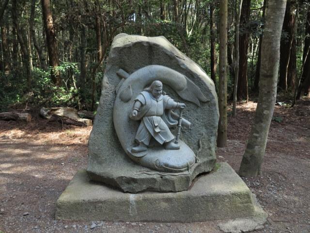 武甕槌大神がナマズを抑える石